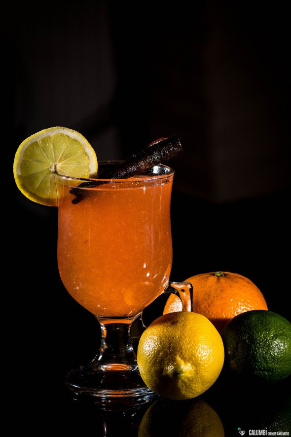 Hot Bloody Citrus Toddy