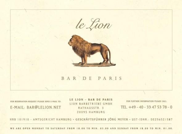 Le Lion Visitenkarte (Bildquelle: www.lelion.net)