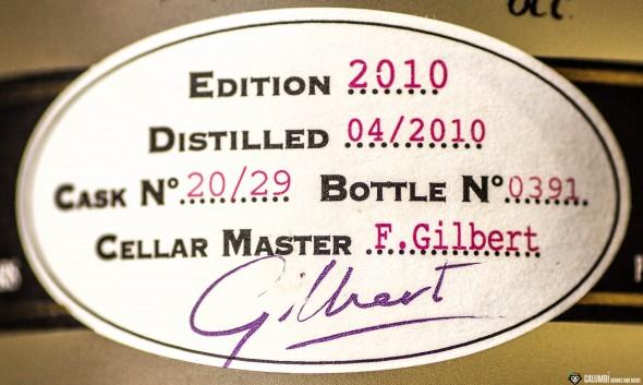 Citadelle Reserve Gin Etikett