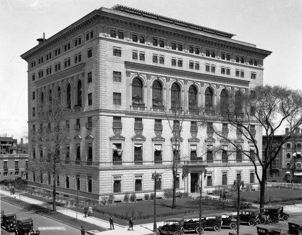 Der Detroit Athletic Club im Jahr 1915