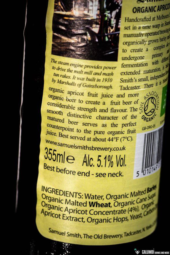 Samuel Smith Organic Apricot