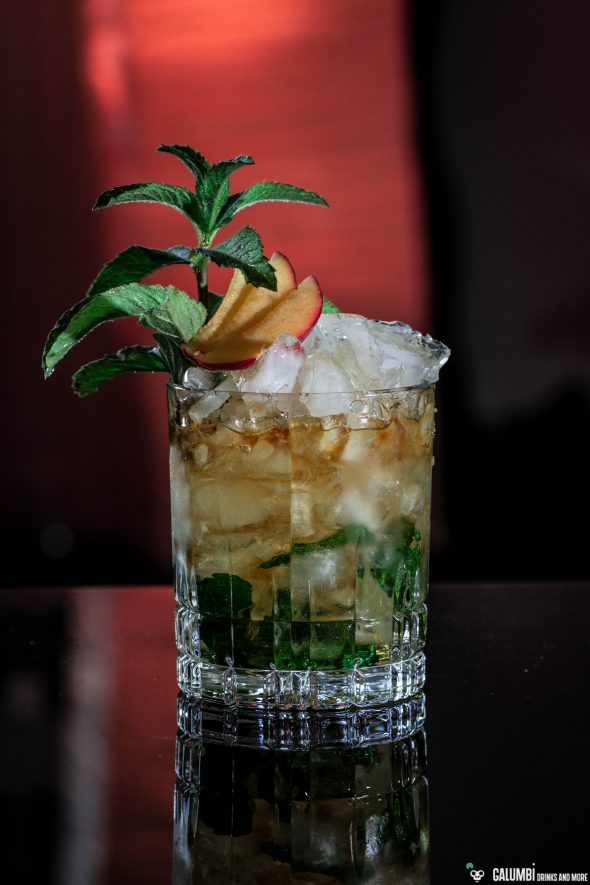 Mint (Peach) Julep